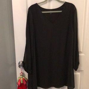 Worthington Black Shift Dress